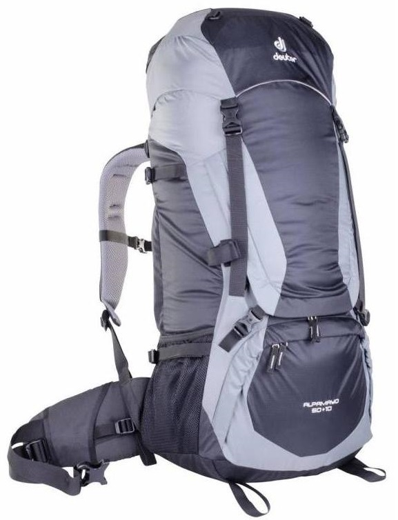 Рюкзак Deuter Alpamayo 60+10 Graphite-Black